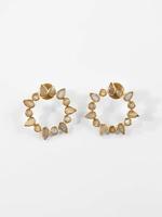Joya Athena Earrings Labradorite