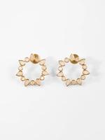 Joya Athena Earrings Moonstone