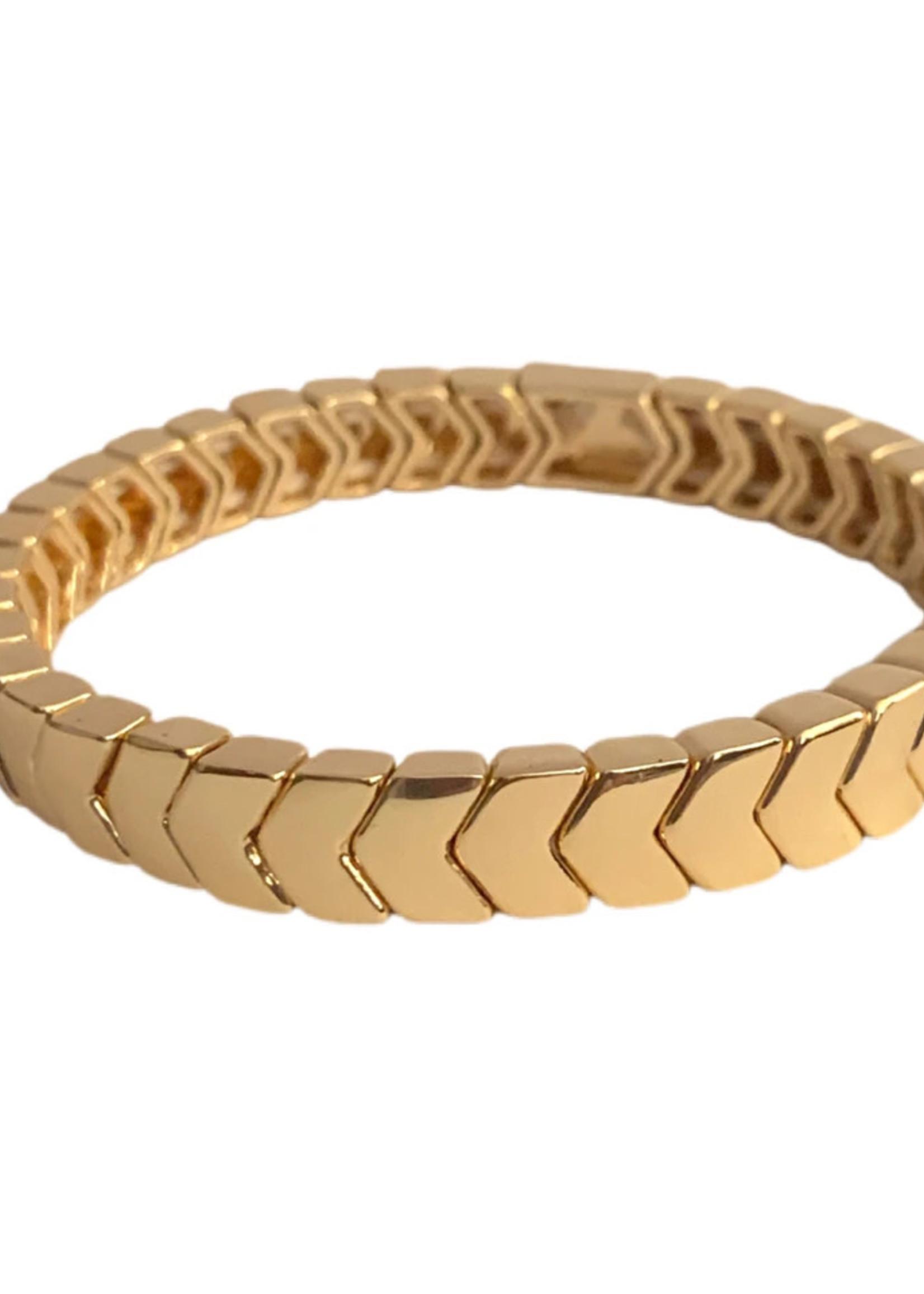 Caryn Lawn Arrow Bracelet Gold