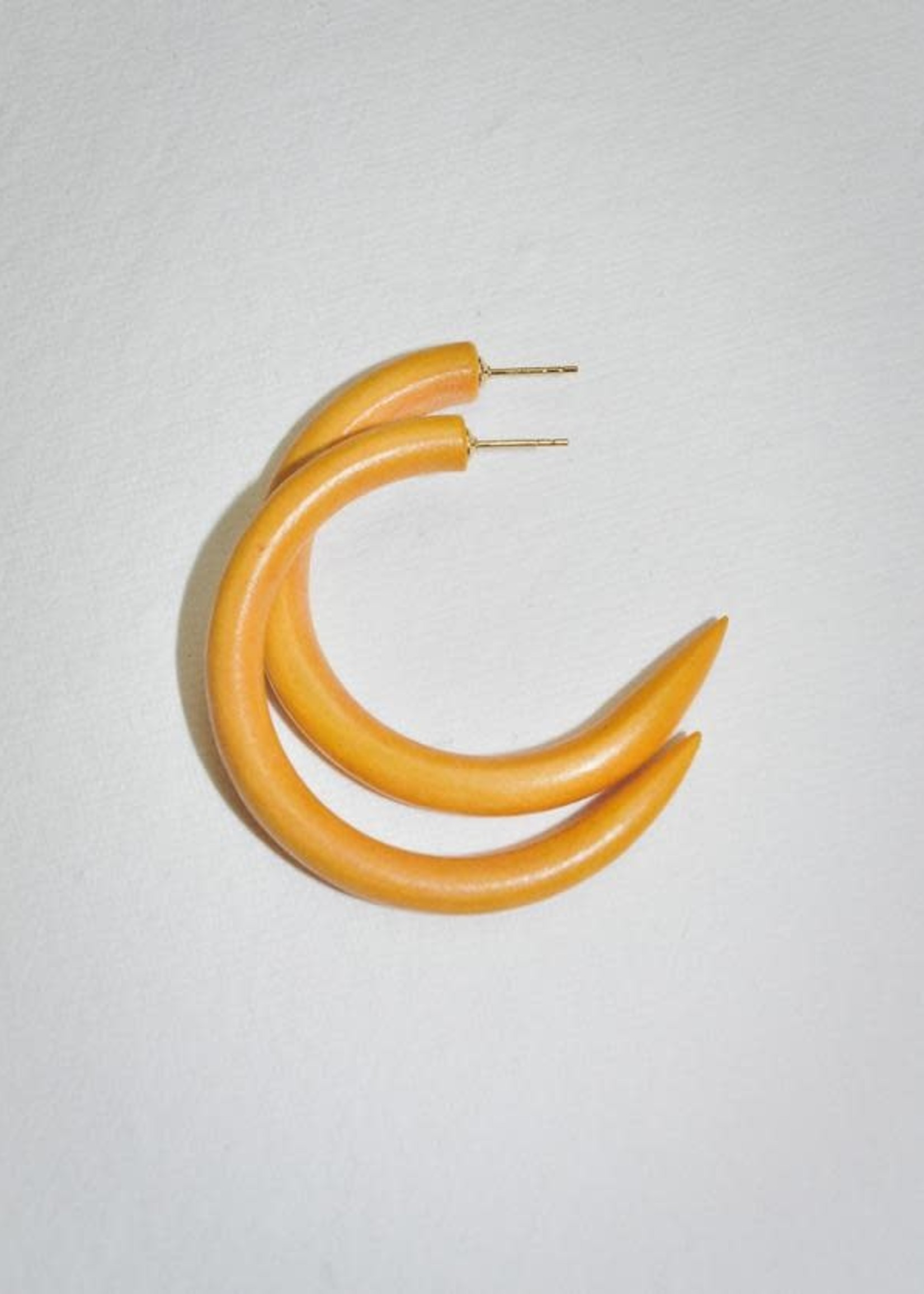 Binky & Lulu Cantaloupe Small Hoop