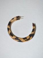Binky & Lulu Leopard Large Hoop