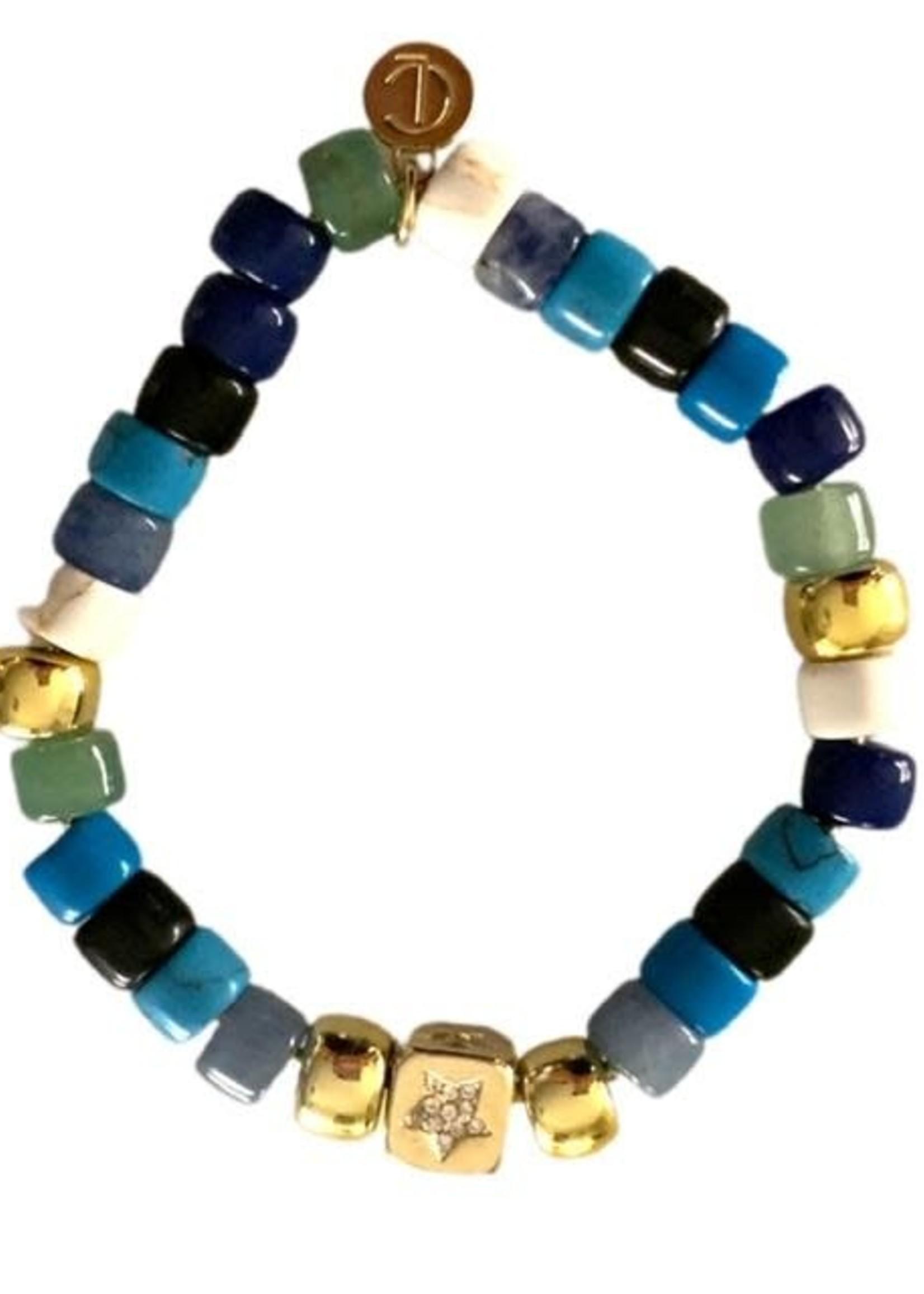 Caryn Lawn Harbor Bracelet- Blue Ocean