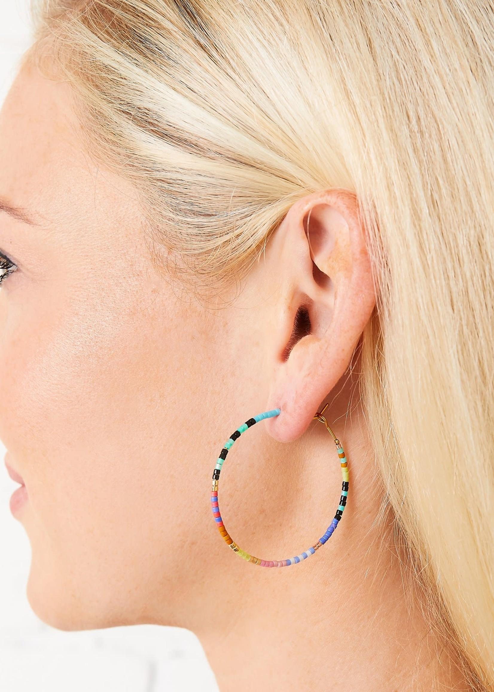 Caryn Lawn Baja Hoop Earring