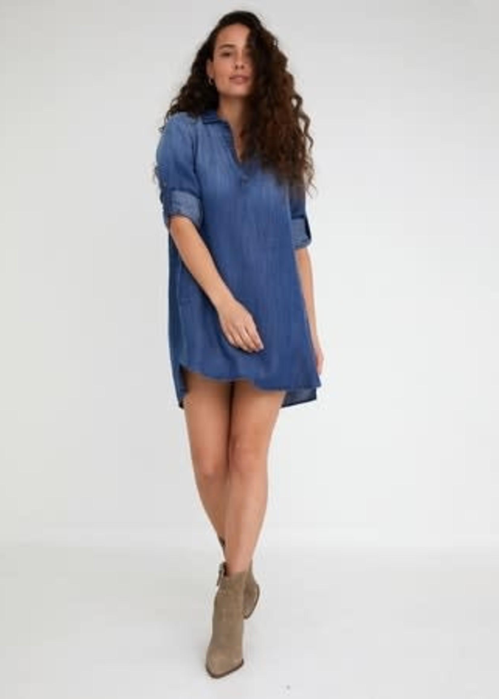 Bella Dahl LongSleeve A-Line Dress