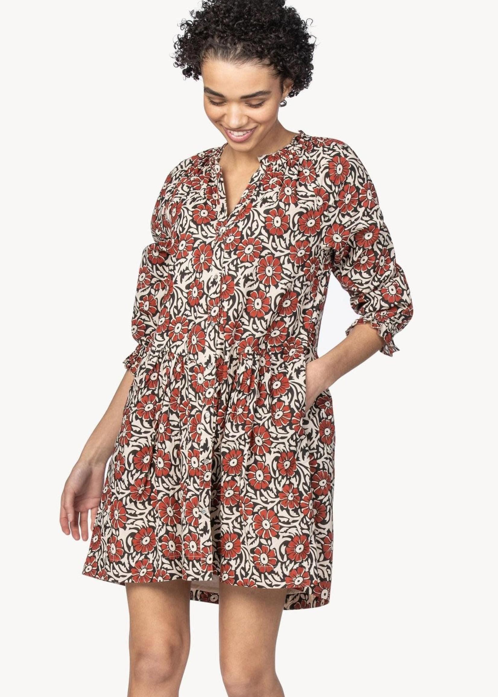 Lilla P Button Down Dress