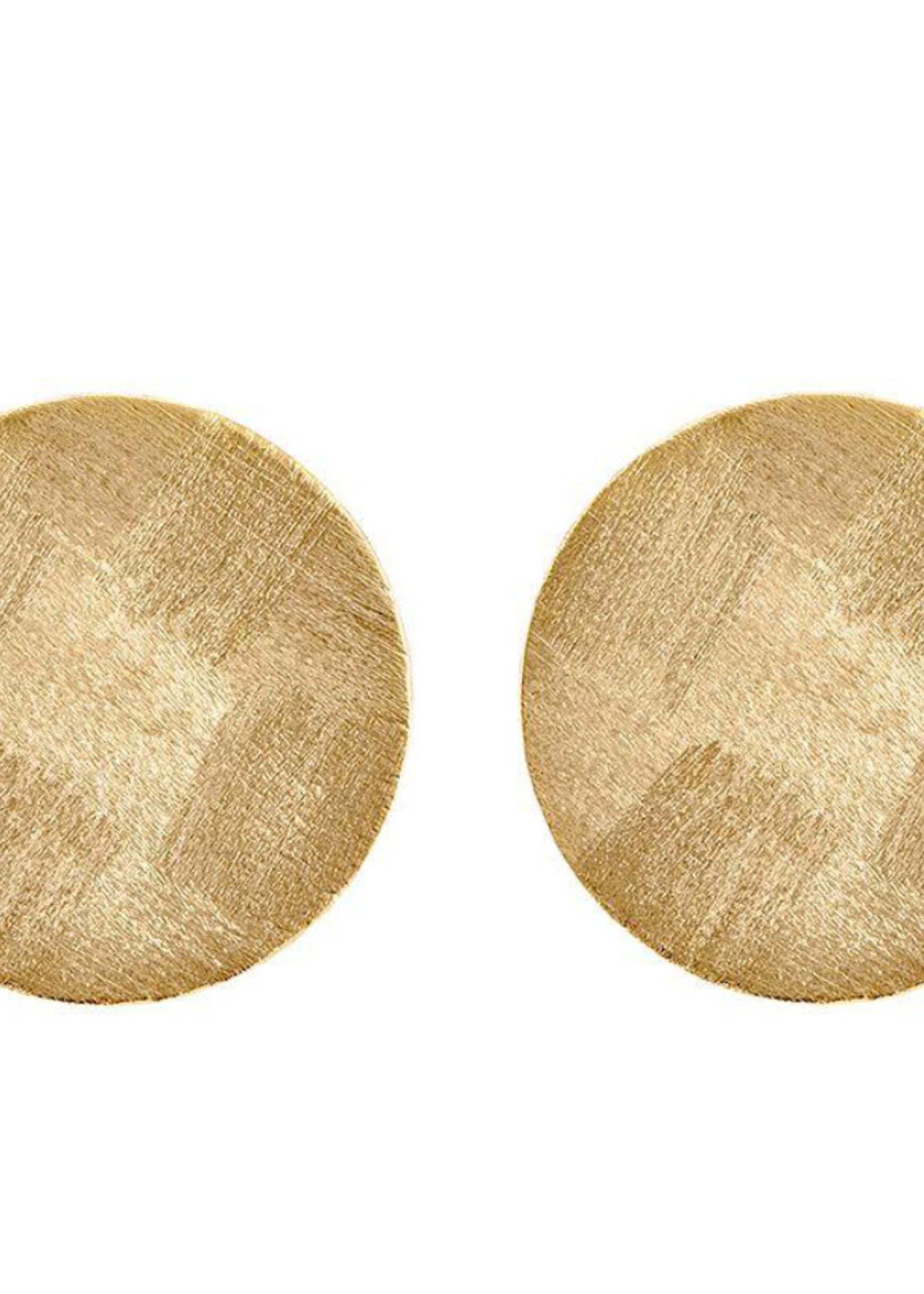 sheila fajil Alan Stud Earring Gold