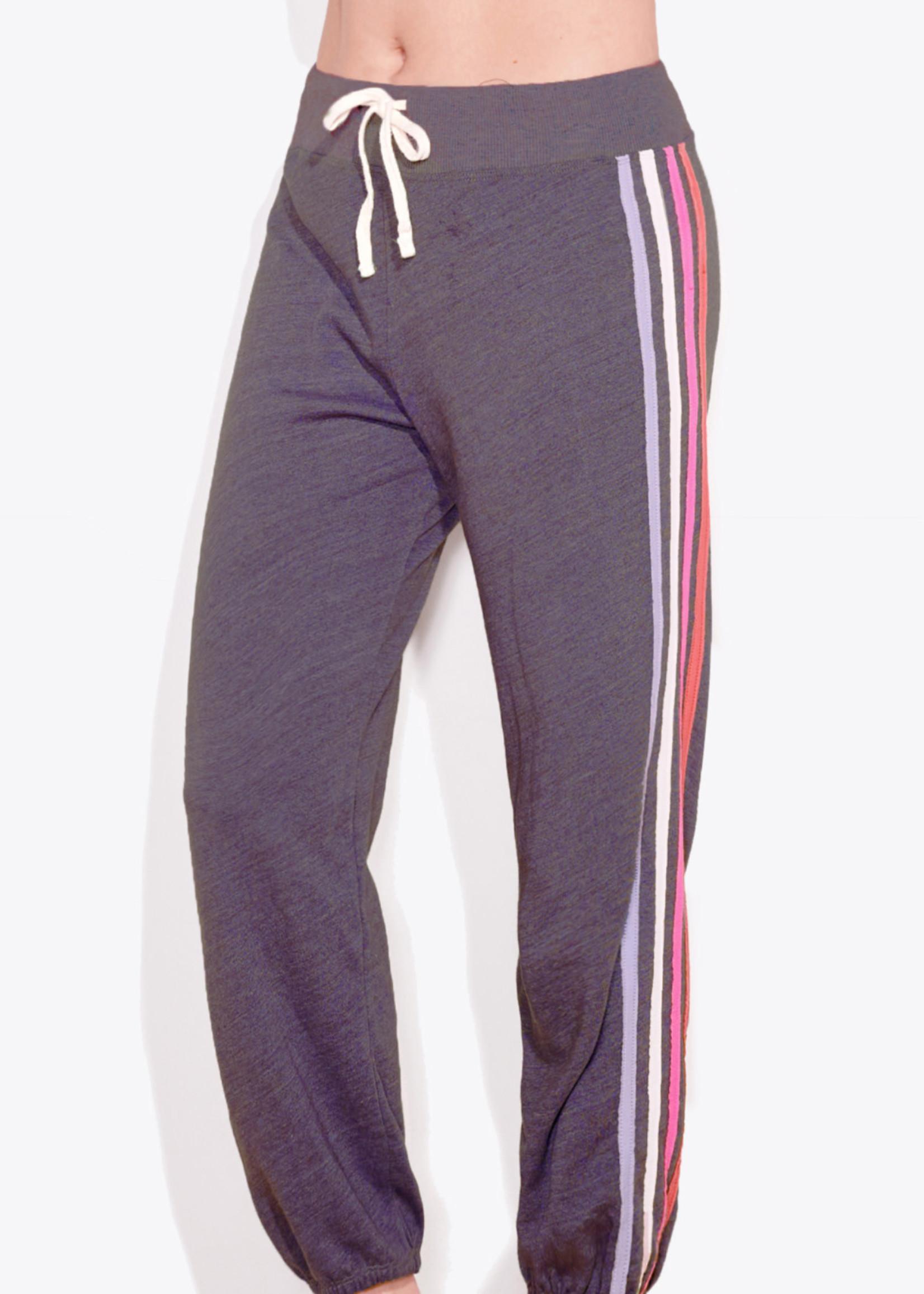 Sundry Vertical Stripe Sweatpants