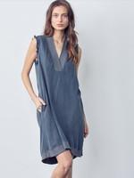Maven West Sleeveless Fray Dress