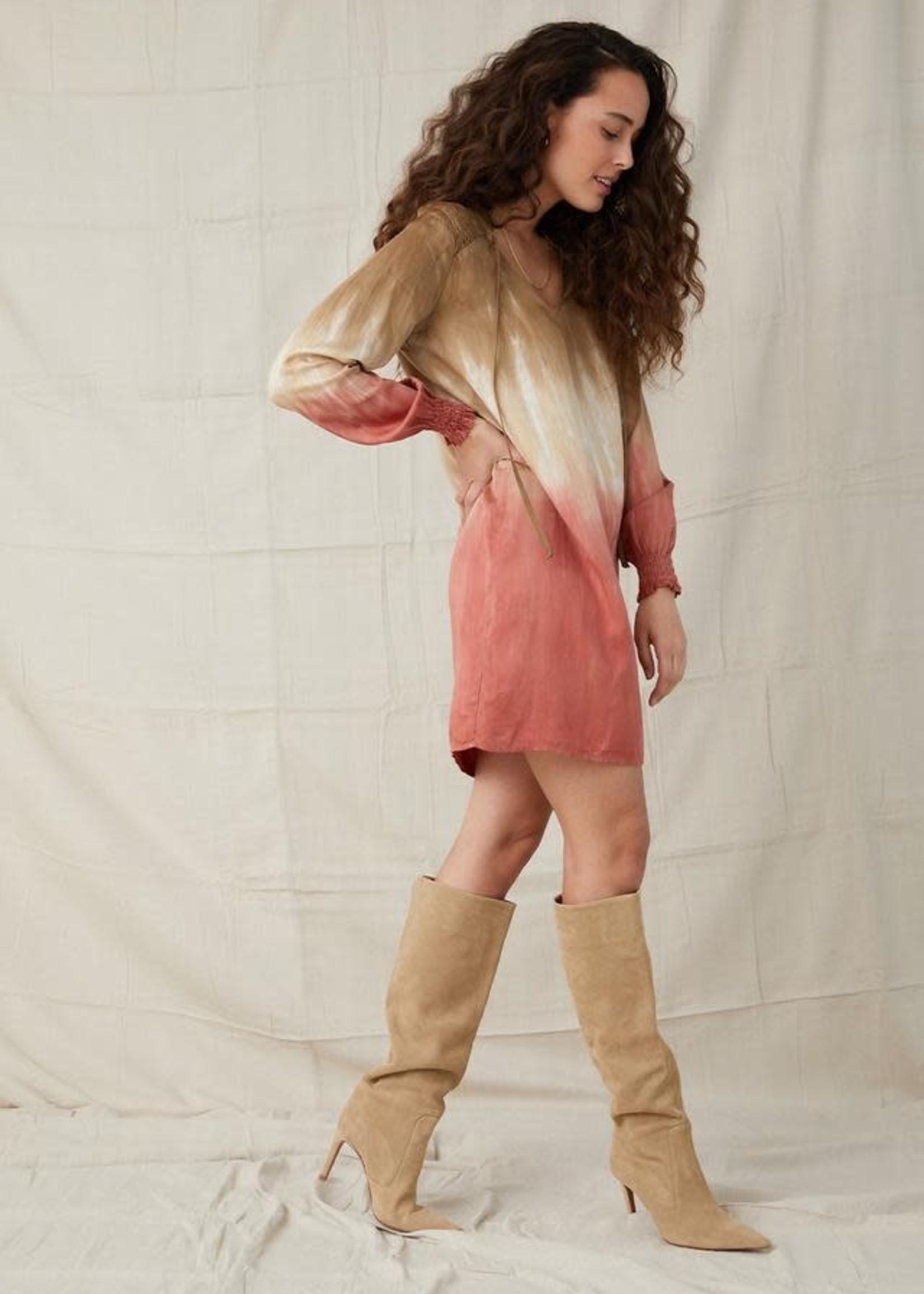 Bella Dahl Smocked Yoke Dress