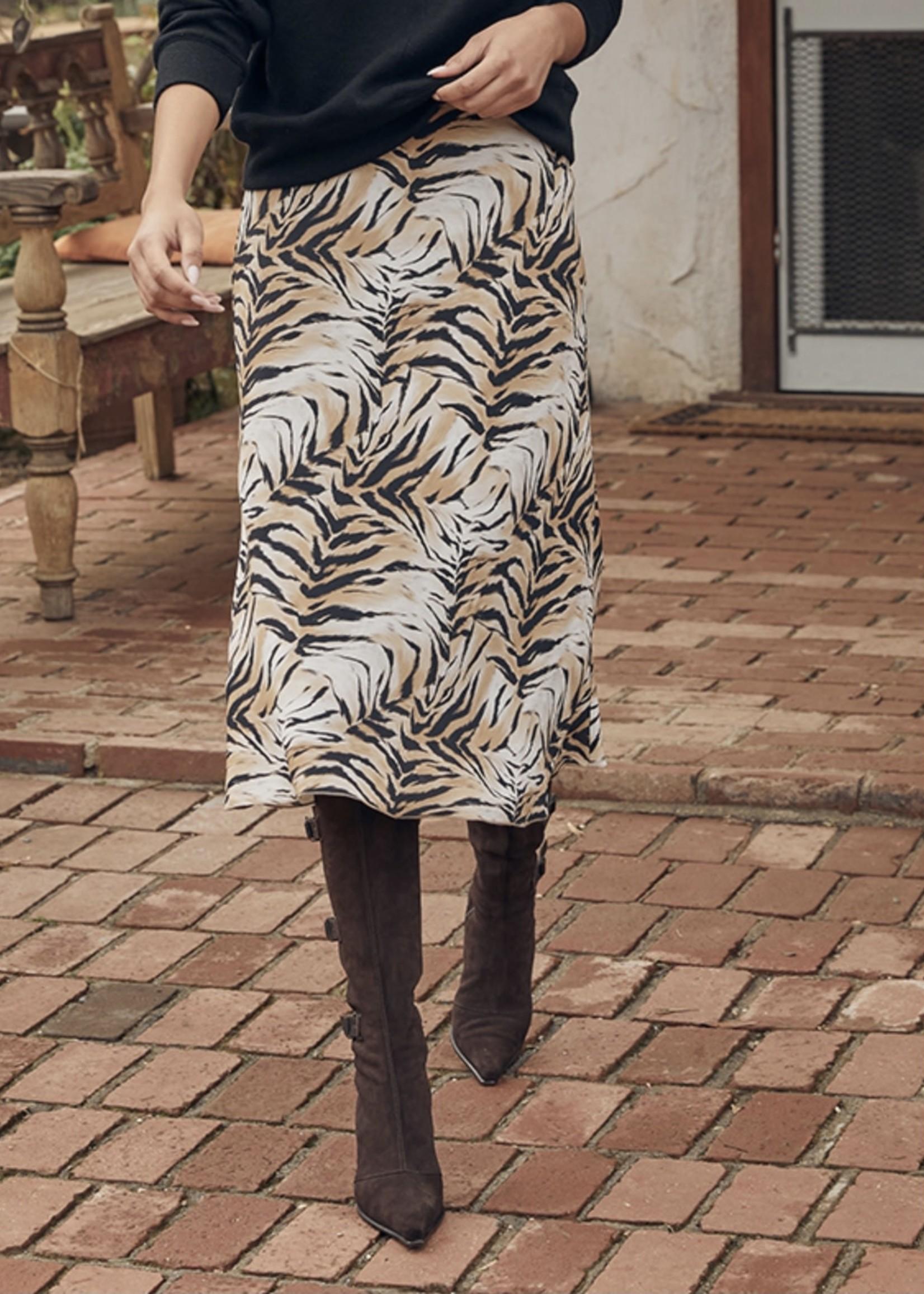 Fifteen Twenty Bias Cut Midi Skirt