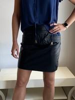 Karina Grimaldi Ryan Leather Skirt