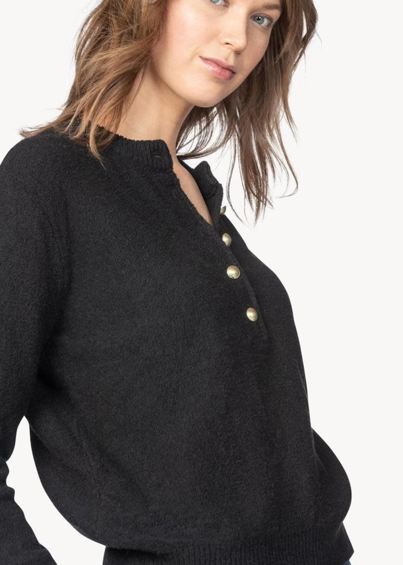 Lilla P Long Sleeve Button Henley