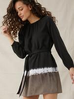 Bella Dahl Gathered Mini Dress