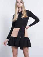 Karina Grimaldi Emili Combo Mini Skirt
