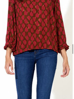 Oliphant Bow-Tie Back Top