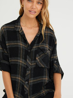 Bella Dahl Long Sleeve Roll Tab Shirt