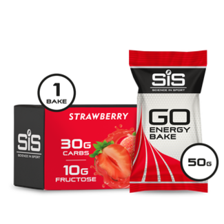 Sports In Science SIS GO Energy Bake Bar Strawberry