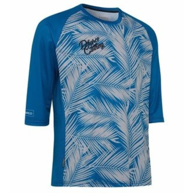 Dharco Mens 3/4 Jersey 2021 Blue Steel M