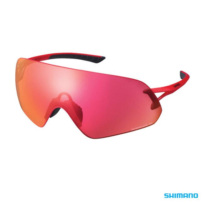 Shimano Aerolite P Glasses Metallic Red Ridescape RD