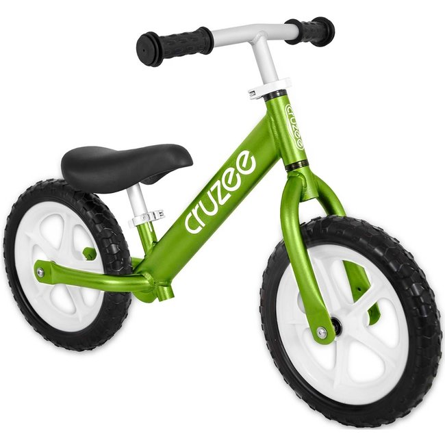 """Cruzee 12"""" Balance Bike Green"""