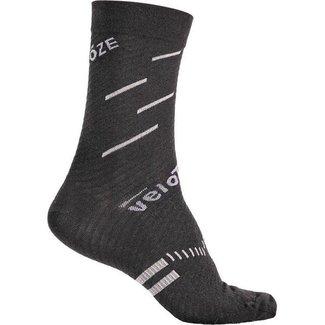 VELOTOZE VeloToze Socks Black/Grey L/XL