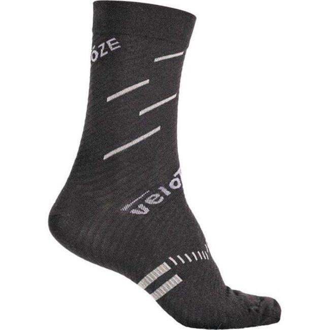 VeloToze Socks Black/Grey L/XL