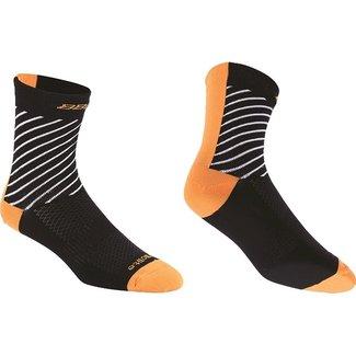 BBB BBB Thermofeet Socks Black/Orange 39-43