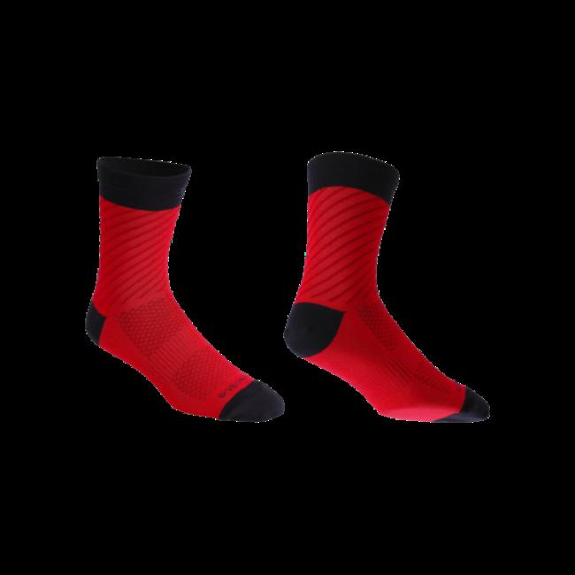 BBB Thermofeet Socks Black/Red 44-47