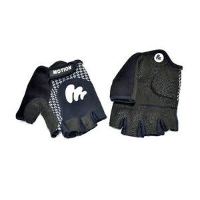 Motion Fingerless Race Glove - Men Black XS