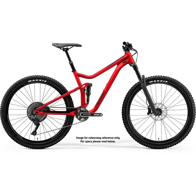 Merida 21 ONE FORTY 700 - GLOSSY RACE RED (BLACK)