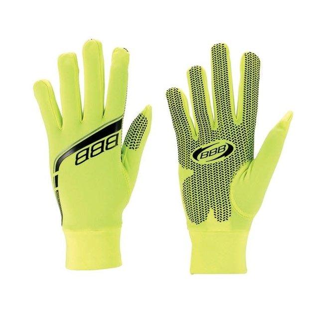 BBB RACESHIELD GLOVES  Small Neon Yellow