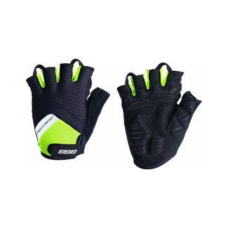 BBB BBB High Comfort Fingerless Gloves BLACK/NEON XXL
