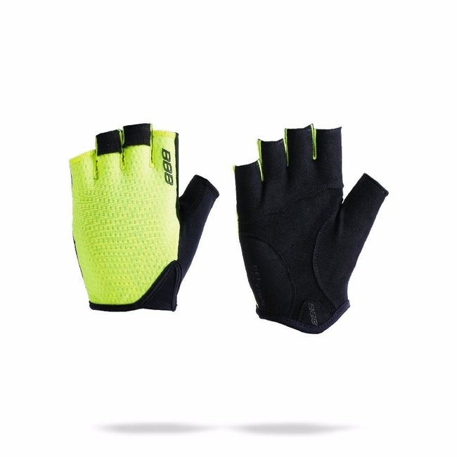 BBB Racer Gloves Neon Yellow XL