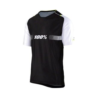 100% 100% Celium Solid Black Jersey XL