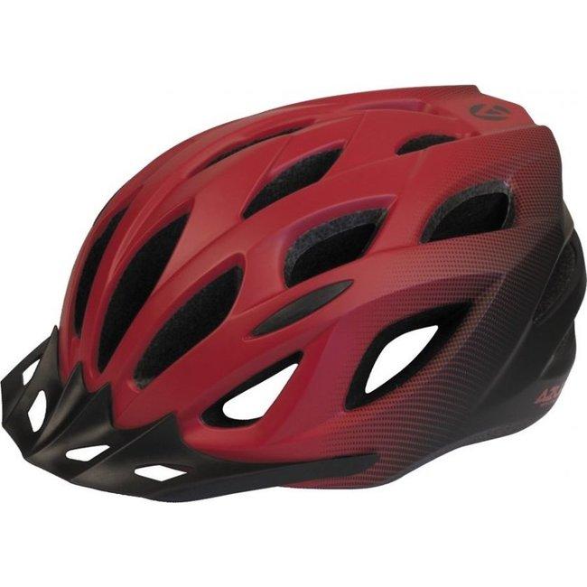 Azur Helmet L61 Leisure S/M Satin Red/Black Fade