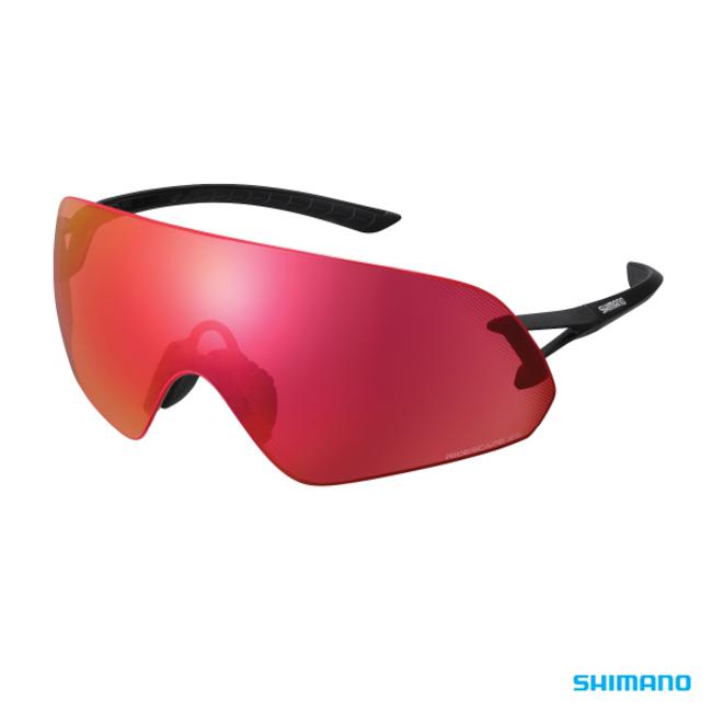 Shimano Aerolite P Glasses Matte Black Ridescape ES