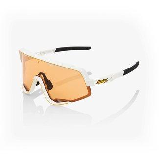 100% 100% Glendale Sunglass Long Lens Soft Tact Stone Grey Hiper Coral