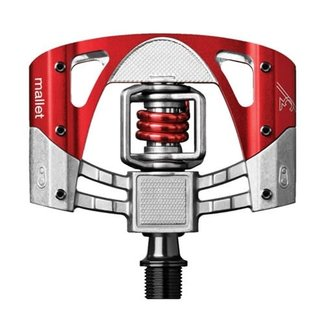 CRANKBROTHERS Crankbrothers Mallet 3 Pedals Raw Red