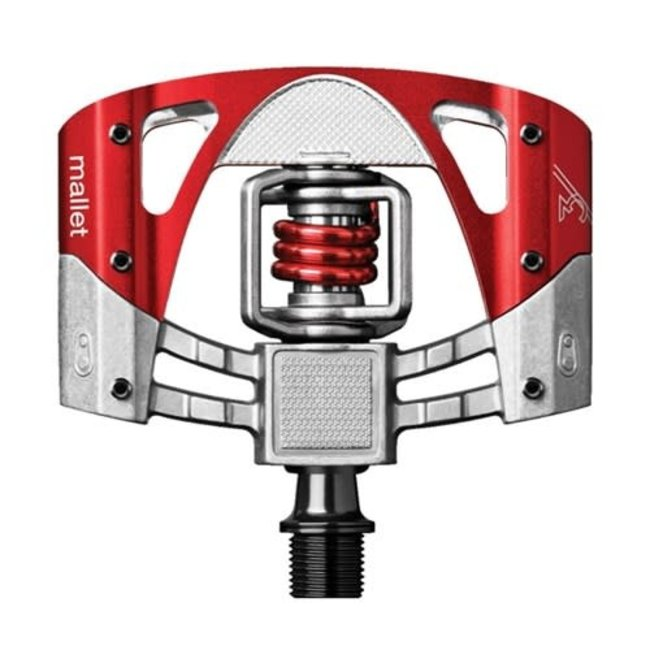 Crankbrothers Mallet 3 Pedals Raw Red
