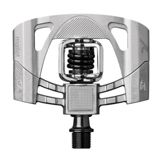 Crankbrother Mallet 2 Pedals Raw/Silver