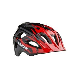 LAZER Lazer Nutz Helmet Red Flames