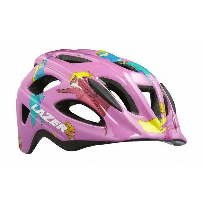 Lazer P'Nut helmet Pink Super Girl