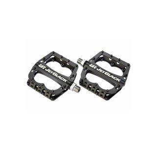 JET BLACK Jetblack Superlight MTB Pedal Low Profile - Black Sealed Bearing Cromo Axle