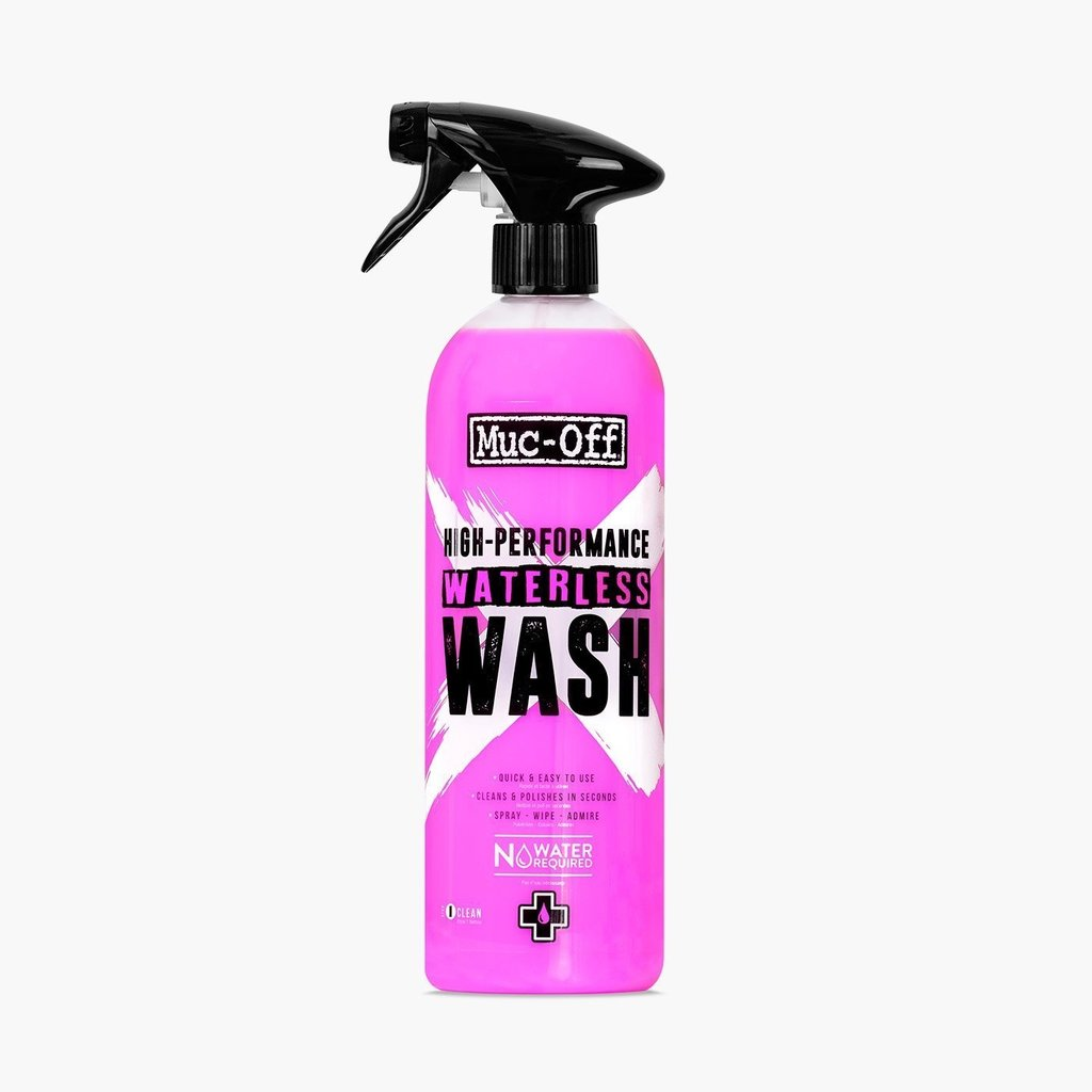 Muc-Off High Performance Waterless Wash, 750ml, 1132CA (FR/ENG)