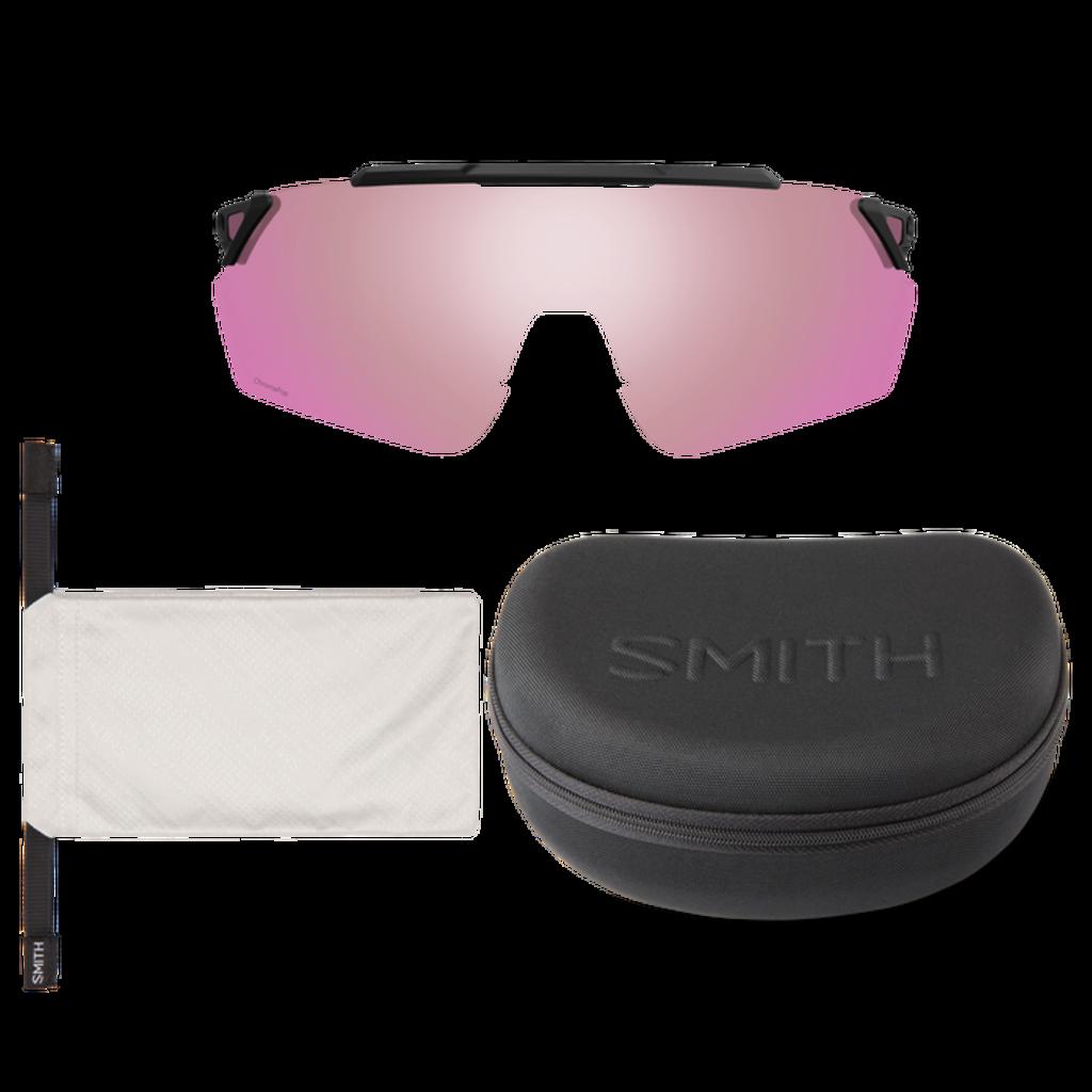 Smith optics Ruckus Matte Black ChromaPop Platinum Mirror ChromaPop Contrast Rose