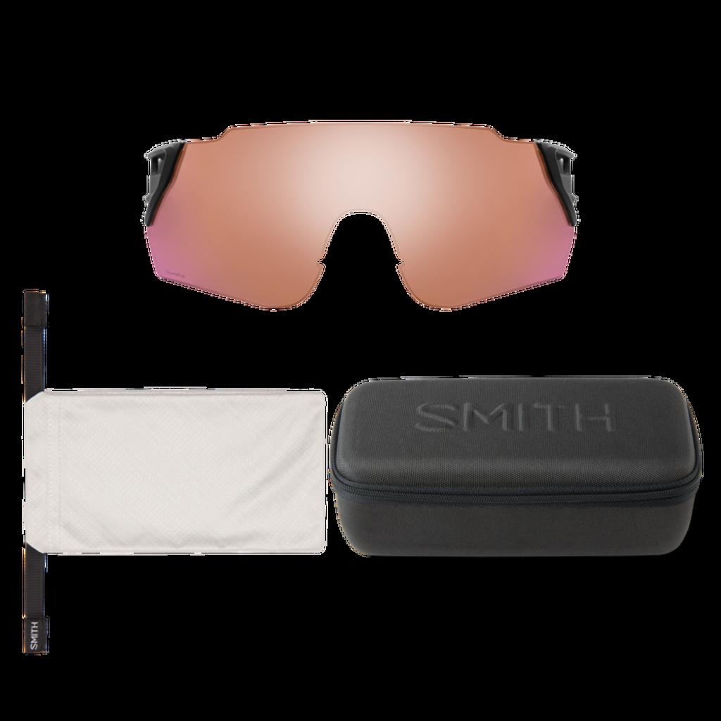 Smith optics Attack MAG Max Matte Black ChromaPop Violet Mirror ChromaPop Contrast Rose