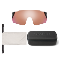 Smith optics Attack MAG Max Matte Black ChromaPop Platinum Mirror ChromaPop Contrast Rose
