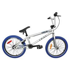 DCO BMX PHANTOM Argent-Pneus Bleu