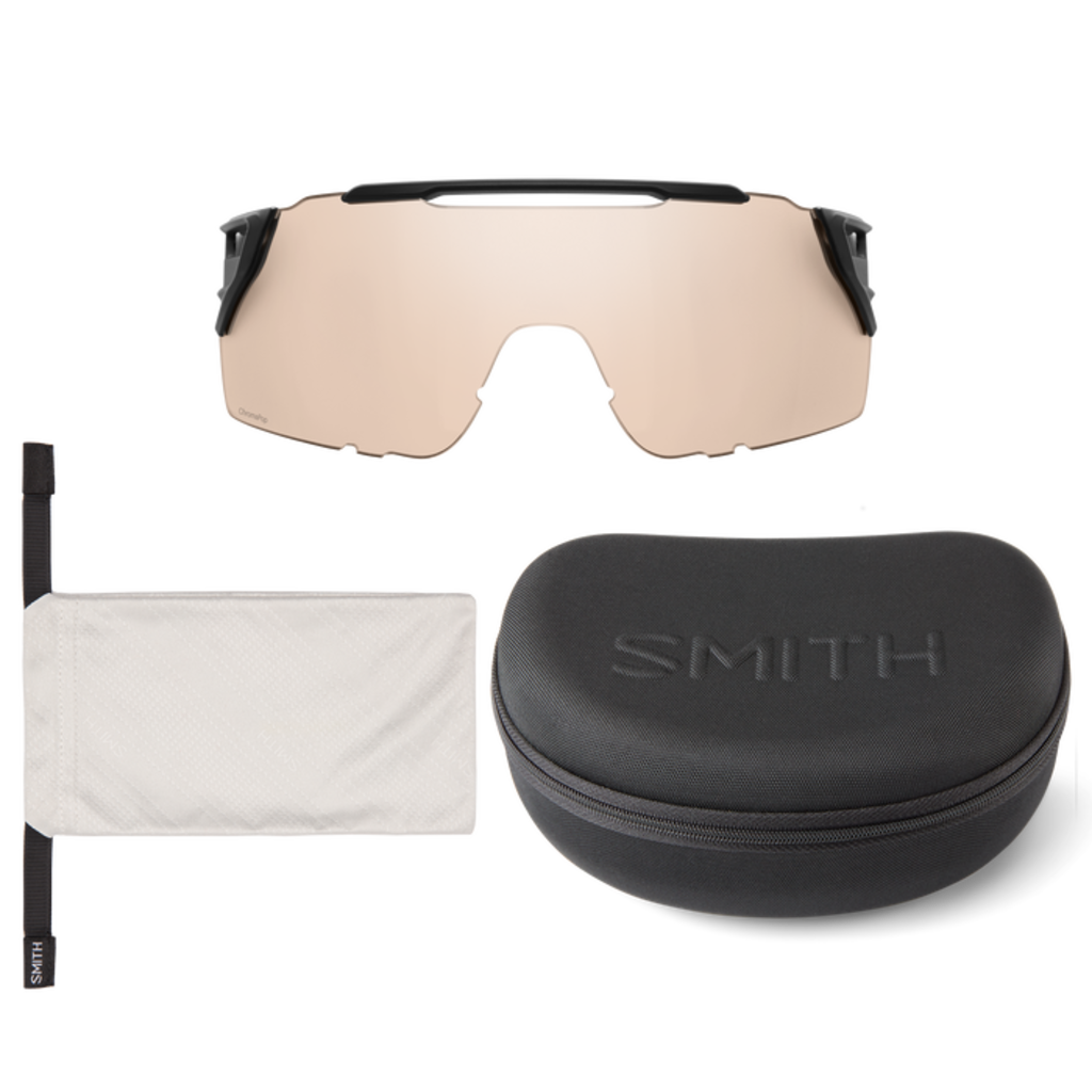 Smith optics Attack MAG MTB Black Photochromic Clear to Gray ChromaPop Low Light Amber