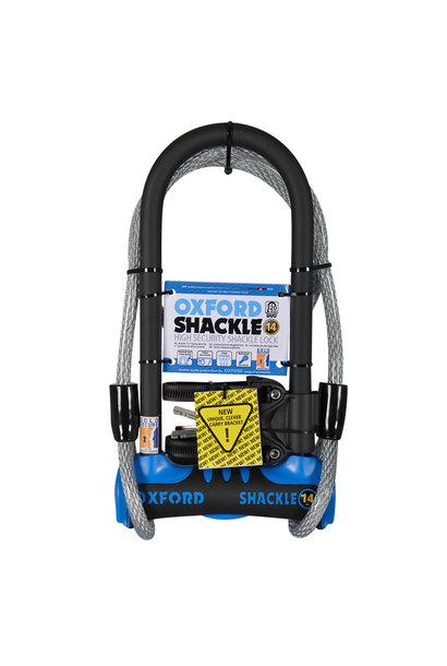 Shackle 14 DUO U-Lock 320mm x 177mm Blue